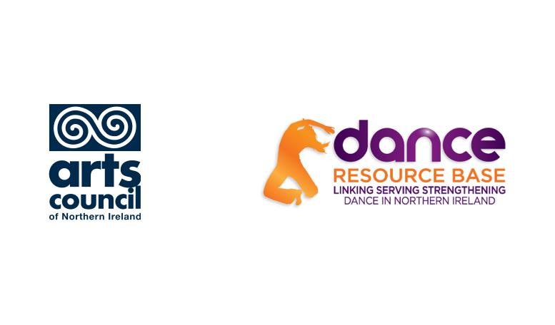 Arts Council Northern Ireland log and Dance Resource Base logo